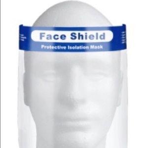 Set of 3 Reusable Face Shields NIP